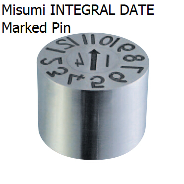 INTEGRAL DATE MARKED PINS